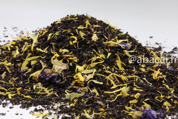 Thé Noir Soleil du Brésil, Thé Noir Mangue Maracuja