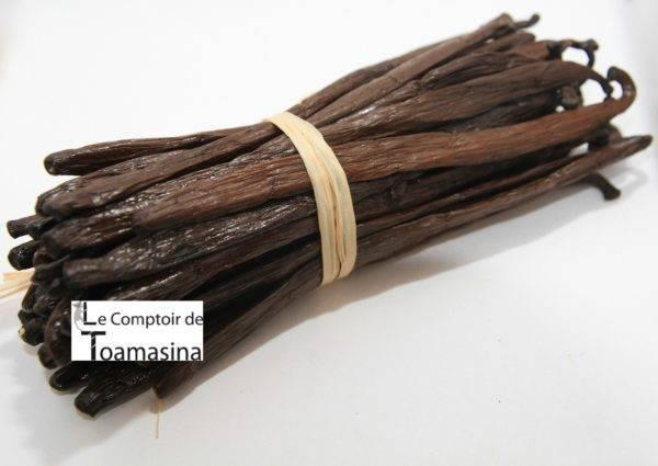 Acheter de la gousse de vanille Bourbon de Madagascar prix gold