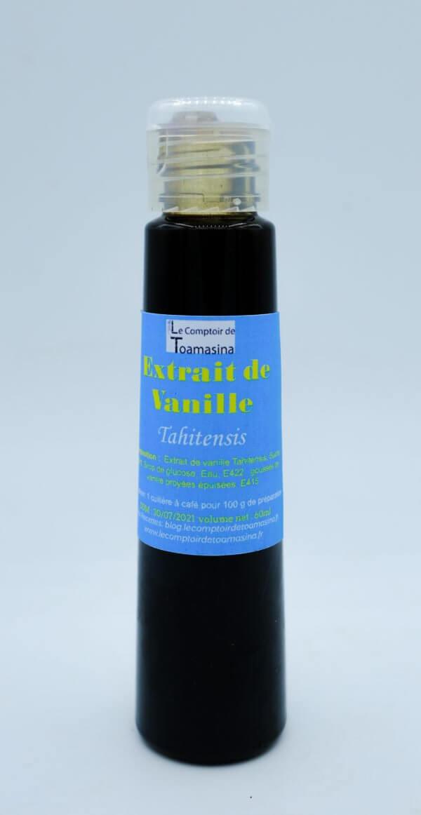 Acheter de l'extrait de vanille Tahitensis à pâtisserie