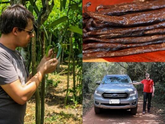 Prix des gousses de vanille - Arnaud sur la route des meilleures plantation