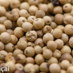 Poivre Blanc de Muntok en grains