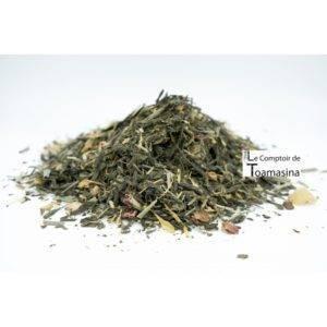 Thés Verts Brésiliens Parfumés
