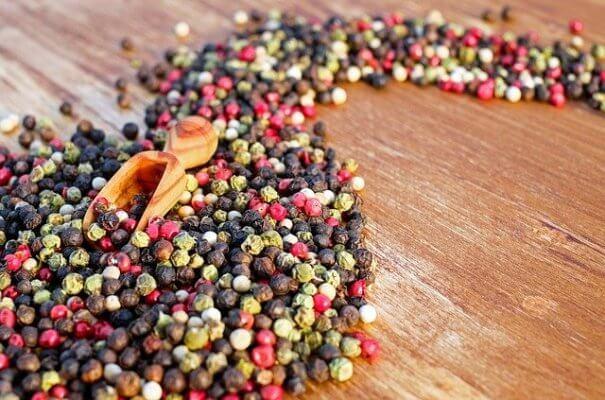 Les poires en grains