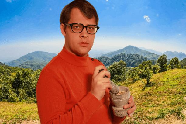 Chercheur de poivres et d'épices du monde