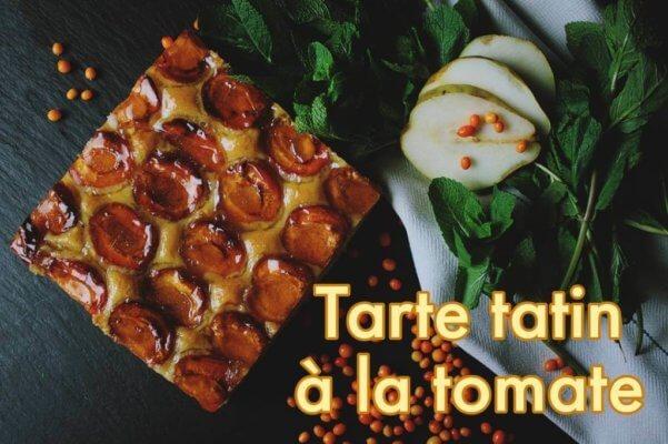 Tarte Tatin à la tomate au poivre sauvage de Madagascar