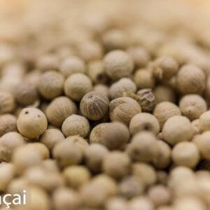 Vente de poivre blanc du Sri Lanka